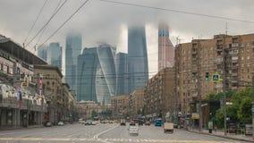 Zeitspanne Moskaus Russland stock footage