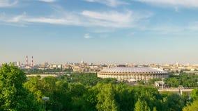 Zeitspanne Moskaus Russland stock video footage