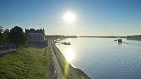 Zeitspanne, Sonnenuntergang, Rybinsk, 1080p stock footage