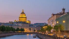 Zeitspanne St Petersburg Russland stock video