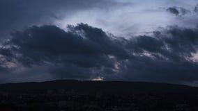 Zeitspanne von cloudscape stock footage