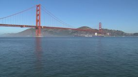 Zeitspanne von Golden gate bridge in San Francisco stock footage