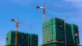 Zeitspanne von im Bau errichten stock video