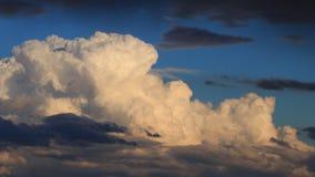Zeitspanne von Kumuluswolken stock video