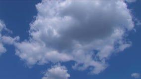 Zeitspanne von Sturmwolken stock video
