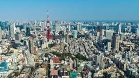 Zeitspanne von Tokyo-Stadt, Japan stock footage