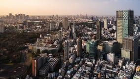 Zeitspanne von Tokyo-Stadt, Japan stock video