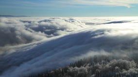 Zeitspanne von Wolken stock video footage