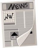Zeitung Stockbild