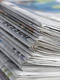 Zeitung lizenzfreies stockbild