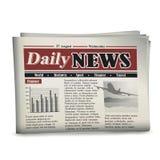 Zeitung stock abbildung