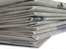 Zeitung lizenzfreie stockfotografie