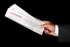 Zeitung lizenzfreie stockbilder
