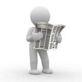 Zeitung Lizenzfreies Stockfoto
