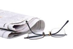 Zeitung lizenzfreie stockfotos