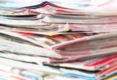 Zeitungen Lizenzfreies Stockbild