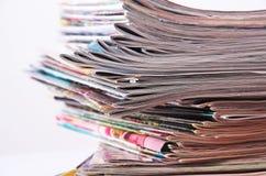 Zeitungen Lizenzfreie Stockfotos