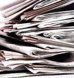 Zeitungen Stockfotografie