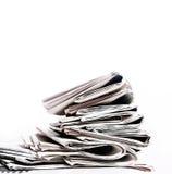 Zeitungen Stockfoto