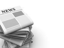 Zeitungshintergrund lizenzfreie abbildung