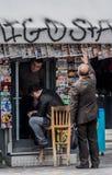 Zeitungskiosk, Monastiraki, Atyhens, Griechenland lizenzfreies stockfoto