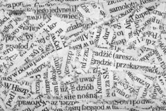Zeitungspapier streift Hintergrund ab lizenzfreies stockfoto