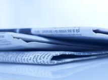 Zeitungsserie Stockfoto