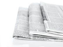 Zeitungsserie Lizenzfreie Stockfotos