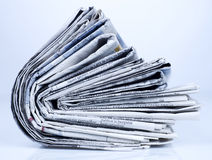 Zeitungsserie Stockfotos