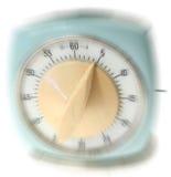 Zeitwarnungsdruck Lizenzfreies Stockbild