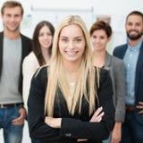 Zeker commercieel team Royalty-vrije Stock Foto's