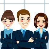 Zeker Commercieel Team Royalty-vrije Stock Afbeeldingen