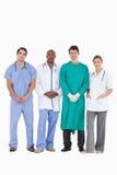 Zeker medisch team die zich verenigen Royalty-vrije Stock Afbeeldingen