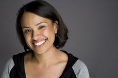 Zekere Afrikaanse Amerikaanse Vrouw Royalty-vrije Stock Afbeelding