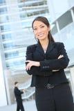 Zekere Aziatische BedrijfsVrouw Royalty-vrije Stock Afbeelding