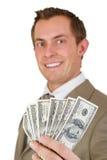 Zekere bedrijfsmens Royalty-vrije Stock Foto