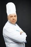 Zekere chef-kok Stock Fotografie
