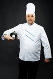 Zekere chef-kok Stock Afbeelding