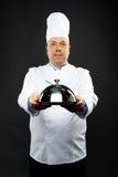 Zekere chef-kok Royalty-vrije Stock Fotografie