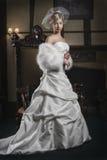 Zekere Jonge Bruid I Royalty-vrije Stock Fotografie