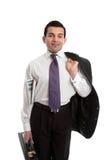 Zekere zakenman stock foto's