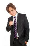 Zekere zakenman Royalty-vrije Stock Foto's