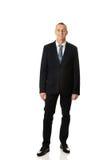 Zekere zakenman status Stock Fotografie