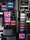 Zekeringkast van auto Stock Afbeelding