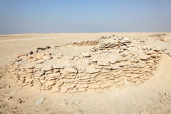Zekreet Fort Ruins in Qatar Stock Photography