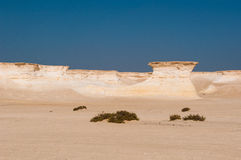 Zekreet pustynia, Doha, Katar Fotografia Stock