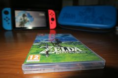 Zelda and Switch Stock Image