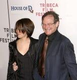 Zelda Williams et Robin Williams Photo libre de droits