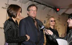Zelda Williams et Robin Williams Images stock