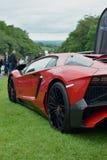 Zeldzaam Lamborghini Aventador SuperVeloce SV stock fotografie